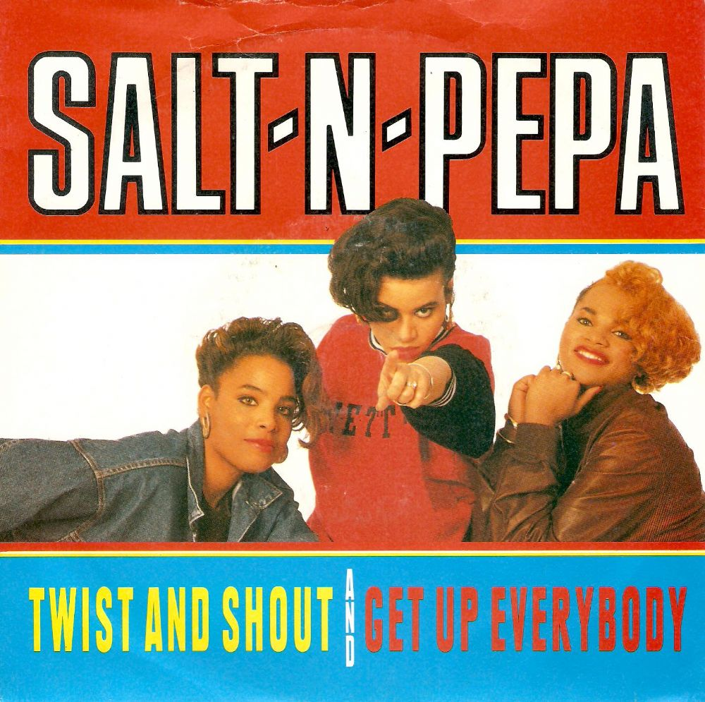 SALT-N-PEPA Twist And Shout Vinyl Record 7 Inch FFRR 1988